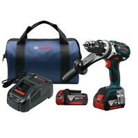 Bosch HDH18301RT 18V Li-Ion Brute Tough 1/2 in. Hammer Drill Driver Kit Recon