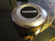 Vintage Mazda OEM Chrome Metal Center Cap... 2 each