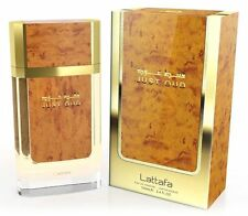Just Oud by Lattafa Perfumes Spicy Balsamic Rose Oud Amber Woody 100ml EDP