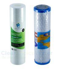 "Undersink Twin Water Filter Replacement Cartridges USA standard 10"" size"