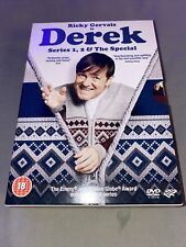 Derek DVD Boxset The Complete Collection Series 1, 2 & Special (2014) Channel 4