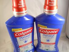 Colgate Mouthwash Peroxyl Mouth Sore Rinse Mild Mint 16.9 oz (2pk) exp 2019
