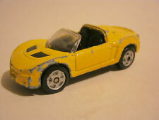 Maisto Yellow Opel Speedster Convertable, fair condition (EB6-20)