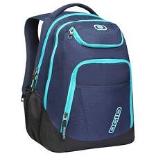 """OGIO 111078-776 Tribune Bora blue 17"""" Laptop Tablet bag Backpack stripes"""