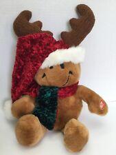 Giggles Wiggles Smiley Face Plush Christmas Musical Grandma Run Over By Reindeer