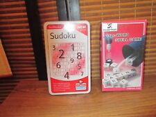 Sudoku and Word Spell Games Set of Two Games, Word and number based games (NEW)