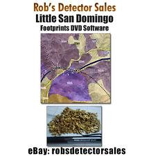 Footprint Research Dvd on Little San Domingo District, Az - Gold Mining Claims