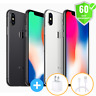 Apple iPhone X 64GB, 256GB | GSM Factory Unlocked | AT&T T-Mobile | Excellent