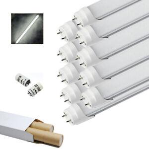 10x LED Leuchtstoffröhre T8 Tube Röhre 120cm 18W Röhrenlampe Leuchte Kaltweiß