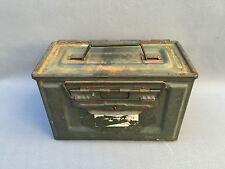 Ancienne caisse de munition armée française déco militaire vintage old box