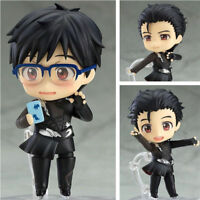 Nendoroid 736 YURI!!! on ICE Figure Skating Katsuki Yuri PVC Action Figure 10cm