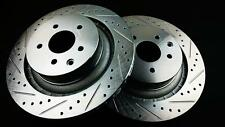 PHASE 2 REAR BRAKE ROTOR DISCS FOR 2009-UP NISSAN 370Z / INFINITI G37 AKEBONO