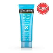 NEUTROGENA HYDRO BOOST Sunscreen Non Greasy Water Gel Lotion SPF 50 88g 3oz