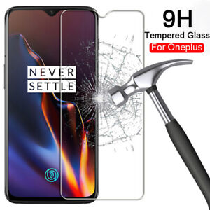 1-Pack Premium Real Tempered Glass Screen Protector For OnePlus 6T Tempered Film