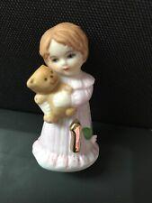 Growing Up Birthday Girls Age 1 Hallmark Porcelain Girl 2.5� Figurine