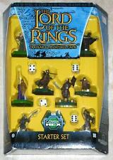 LORD OF THE RINGS ~ COMBAT HEX TRADEABLE MINIATURES GAME ~ STARTER KIT ~ TOLKIEN