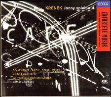 KRENEK JONNY SPIELT AUF Krister St Hill Heinz Krause Alexandra Marc ZAGROSEK 2CD