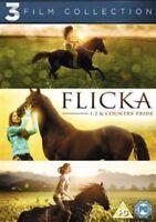 FLICKA : 1,2 & COUNTRY PRIDE - 3 FILM COLLECTION -REGION 2 DVD SET