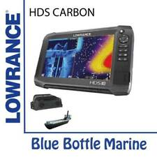 Lowrance HDS-12 Carbon With Med/High/StructureScan 3D