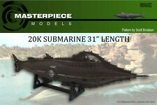 "31"" long 20k Submarine  resin assembly kit"