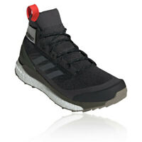 adidas Mens Terrex Free Hiker Walking Shoes Black Green Sports Outdoors