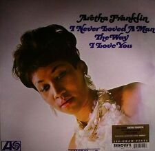 ARETHA FRANKLIN - I NEVER LOVED A MAN THE WAY - REM. LP VINYL NEW SEALED 180 GR