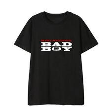 Nuevo Kpop Camiseta Algodón Terciopelo Rojo Bad Boy Joy Seulgi Informal Letra