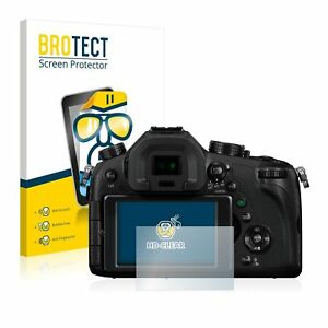 Panasonic Lumix DMC-FZ1000 , 2 x BROTECT® HD-Clear Screen Protector, hard-coated