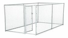Chain Link Dog Kennel – Lucky Dog Outdoor Heavy Duty Pet Kennel – This Pet Cage