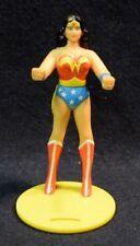 Vintage Wonder Woman 4.5 inch Cup Holder (1988 Burger King) DC Super-Hero Comics