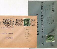 Jj59 Gb Keviii Perfin Covers{2} 1937 *Ww/Jld* London Identified{samwells-cover s}< 00004000 /a>