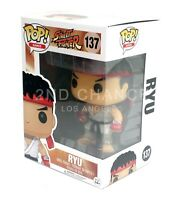 New Funko Pop Street Fighter Ryu #137 Vinyl Figure Vaulted
