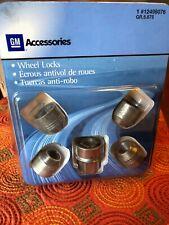 Genuine GM Accessories 19259108 Wheel Lock and Nut Package