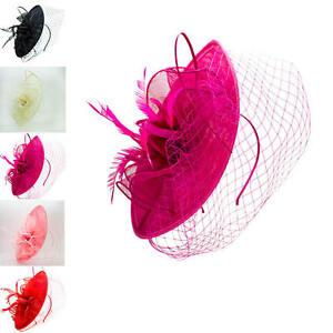 HALF PRICE Ladies&Women Wedding Cocktail Race Headband Flower Hat Fascinator