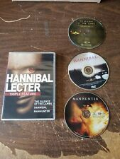 Hannibal Lecter Triple Feature [Silence of the Lambs / Hannibal / Manhunter]