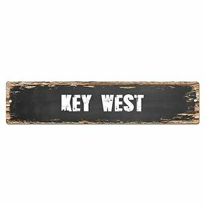 SP0350 KEY WEST Street Sign Bar Store Cafe Home Kitchen Chic Decor Gift