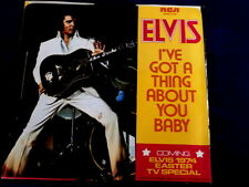 ELVIS PRESLEY~TAKE GOOD CARE OF HER~NEAR MINT~I'V GOT A THING ABOUT YOU ~ POP 45