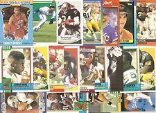 (20) 1990 Auburn University Tigers Alumni Cards NO DUPES! Barkley Bo Jackson
