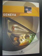 Media Kit Renault Geneva Motorshow 2002 (Engels)