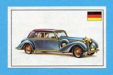 AUTOMOBILE-PANINI 1975-Figurina n.88- MERCEDES 540K - GERMANIA 1936 -Rec