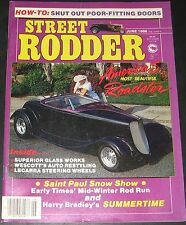 Street Rodder Magazine June 1986