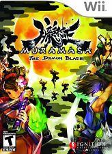 Muramasa: The Demon Blade (2009) Brand New Factory Sealed USA Nintendo Wii Game