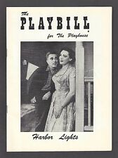 "Linda Darnell ""HARBOR LIGHTS"" Robert Alda / Pat Harrington 1956 FLOP Playbill"