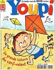 Revue YOUPI * 143 * Cerf Volant Marmotte Ombre  magazine enfant documentaire