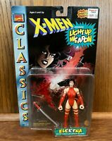 Elektra Vintage X-Men Classics Action Figure MOC New Marvel Toybiz 1996 90s