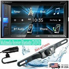 JVC KW-V25BT Double DIN Multimedia Receiver Bluetooth CD/DVD + Back-up Camera