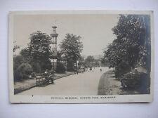 Kilmarnock – Marshall Memorial, Howard Park. (Caledonia - 1914)