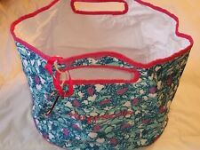 Margaritaville Drink Travel Tote Bag Embroidered New With Bottle Opener Palmtree