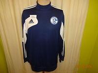FC Schalke 04 Original Adidas Spieler Sweatshirt/Pullover 2013/14 Gr.L TOP