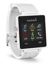 Garmin Vivoactive Smart Watch Activity Monitor Running GPS Gym Phone Wrist White